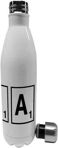 750ml Scrabble Letter - Letter  - Stainless Steel Vacuum Insulated Water Bottle